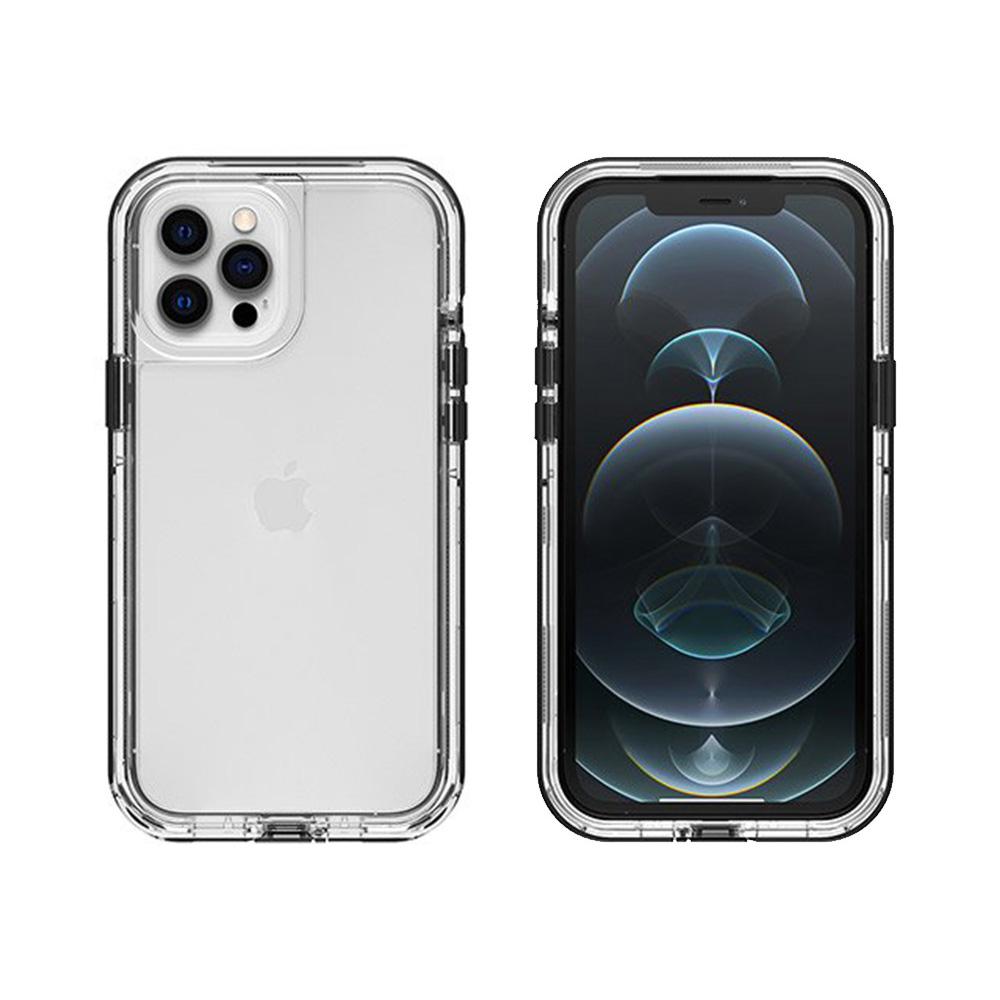 LIFEPROOF iPhone 12 Pro Max (6.7吋)專用 2米軍規防摔防雪防塵三防保護殼-NEXT(透明/黑)