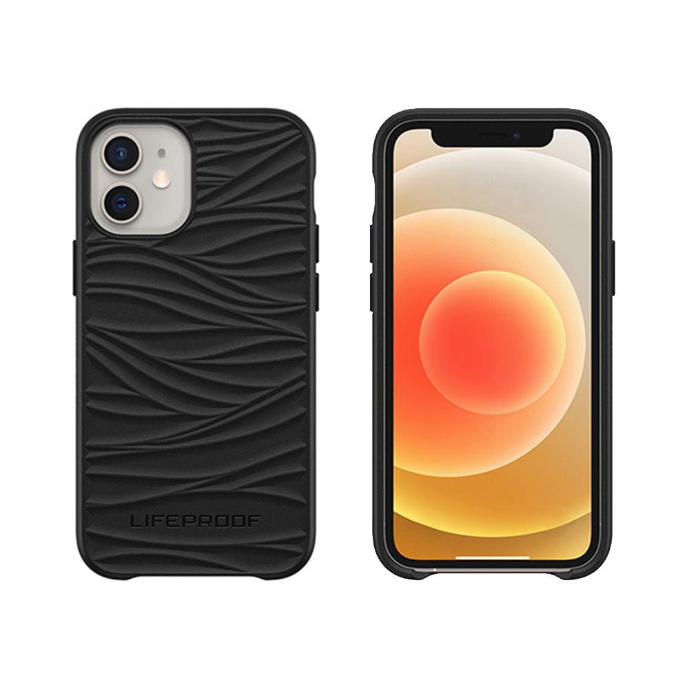 LIFEPROOF|iPhone 12 mini (5.4吋)專用 海洋再生塑料軍規防摔環保保護殼-WAKE(黑)