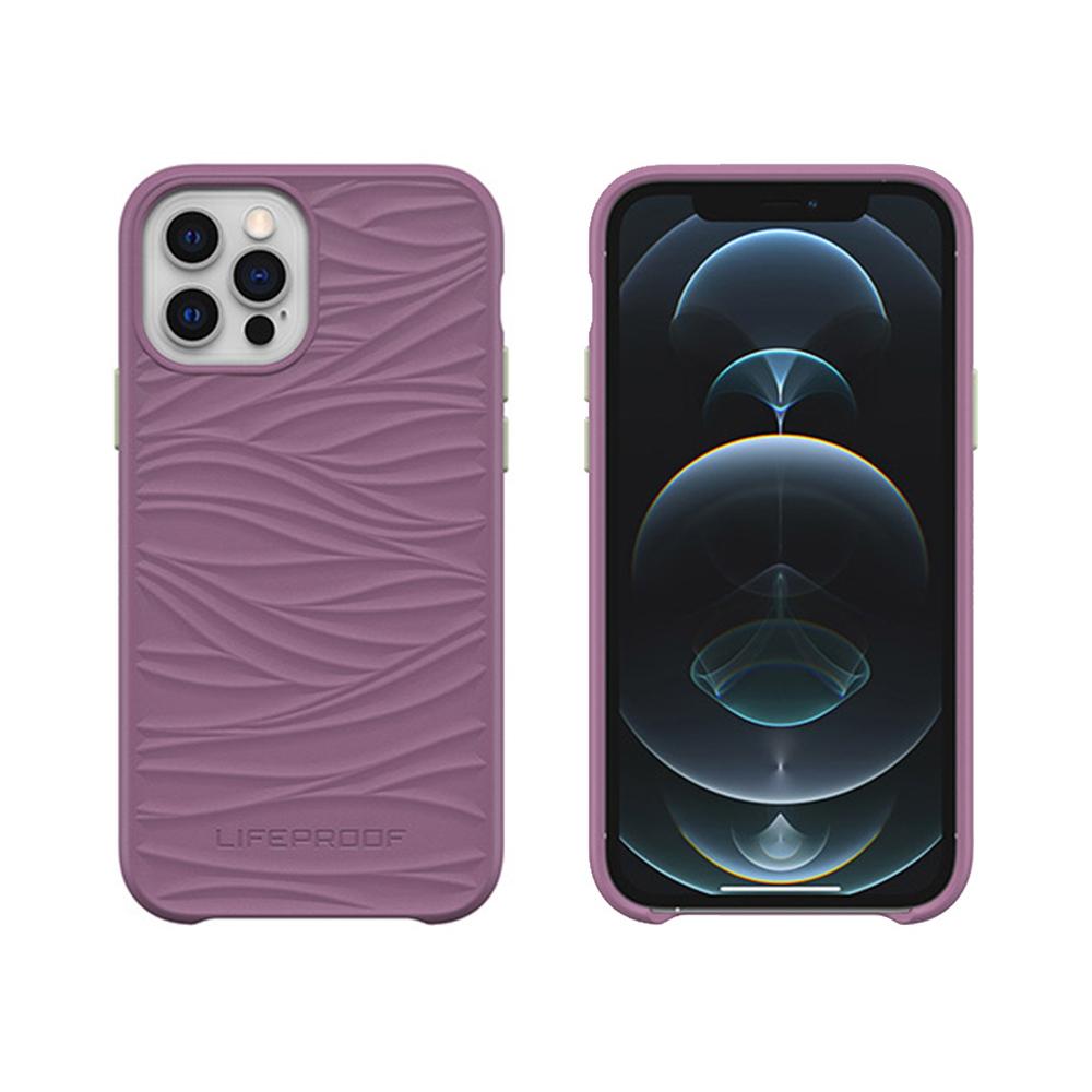 LIFEPROOF|iPhone 12/12 Pro (6.1吋)專用 海洋再生塑料軍規防摔環保保護殼-WAKE(紫)