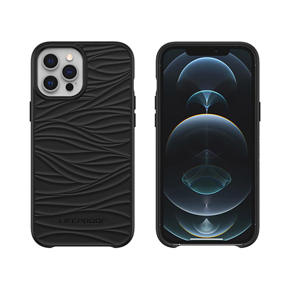 LIFEPROOF|iPhone 12 Pro Max (6.7吋)專用 海洋再生塑料軍規防摔環保保護殼-WAKE(黑)