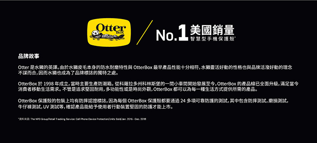 OtterBox iPhone 12 mini (5.4吋)專用 雙層防摔吸震手機保護殼-Commuter通勤者系列■黑