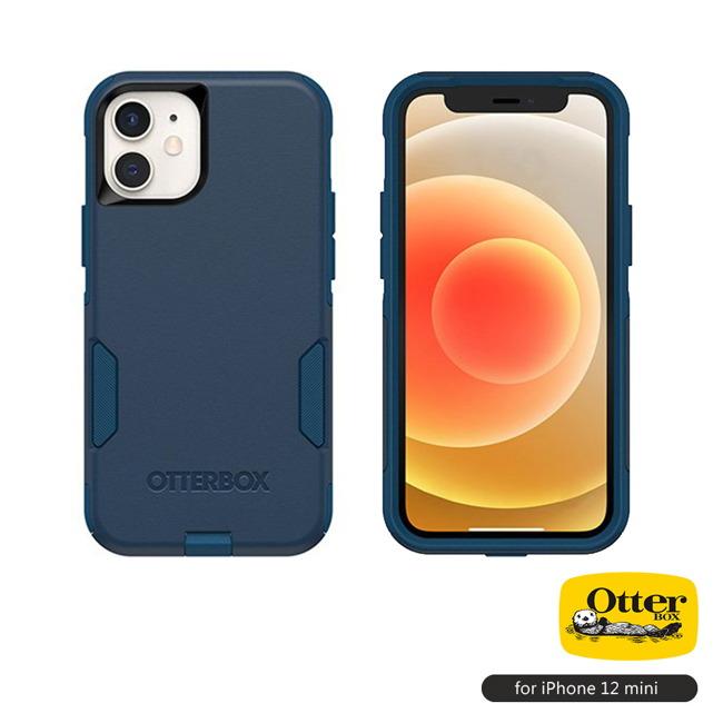 (複製)OtterBox|iPhone 12 mini (5.4吋)專用 雙層防摔吸震手機保護殼-Commuter通勤者系列■黑