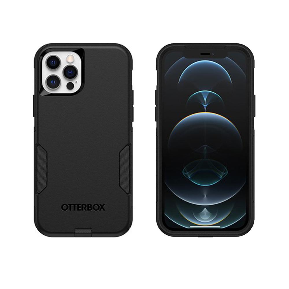 OtterBox iPhone 12/12 Pro (6.1吋)專用 雙層防摔吸震手機保護殼-Commuter通勤者系列-黑
