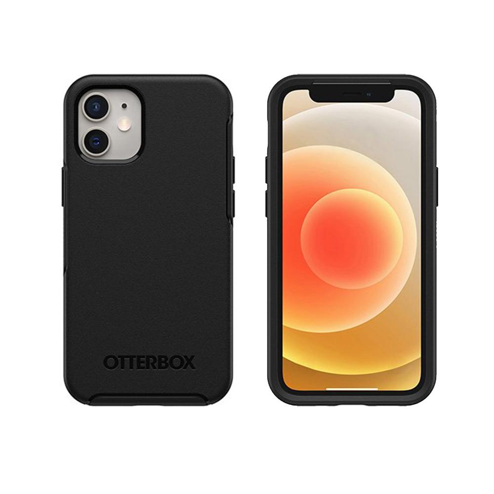 OtterBox iPhone 12 mini (5.4吋)專用 防摔吸震手機保護殼-Symmetry炫彩幾何系列-黑