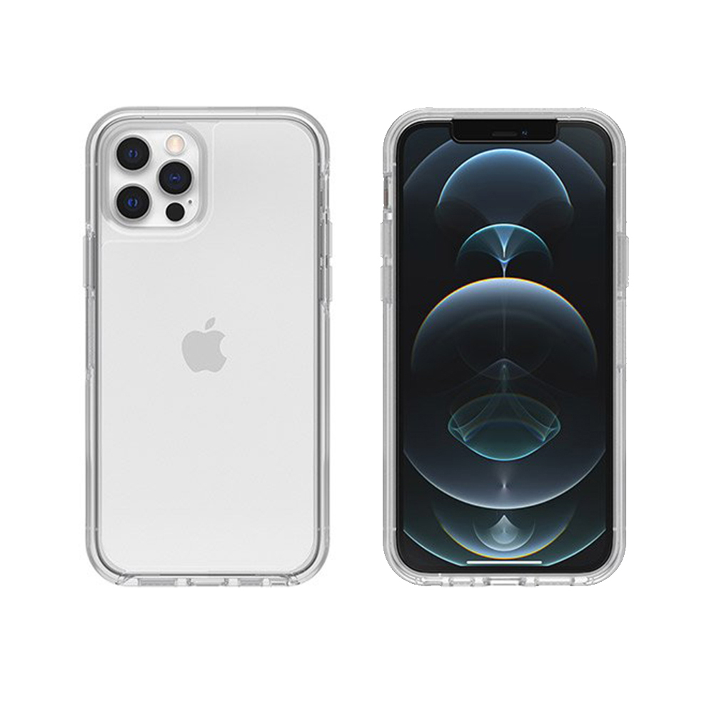 OtterBox|iPhone 12/12 Pro (6.1吋)專用 防摔吸震手機保護殼-Symmetry炫彩透明系列-全淨透
