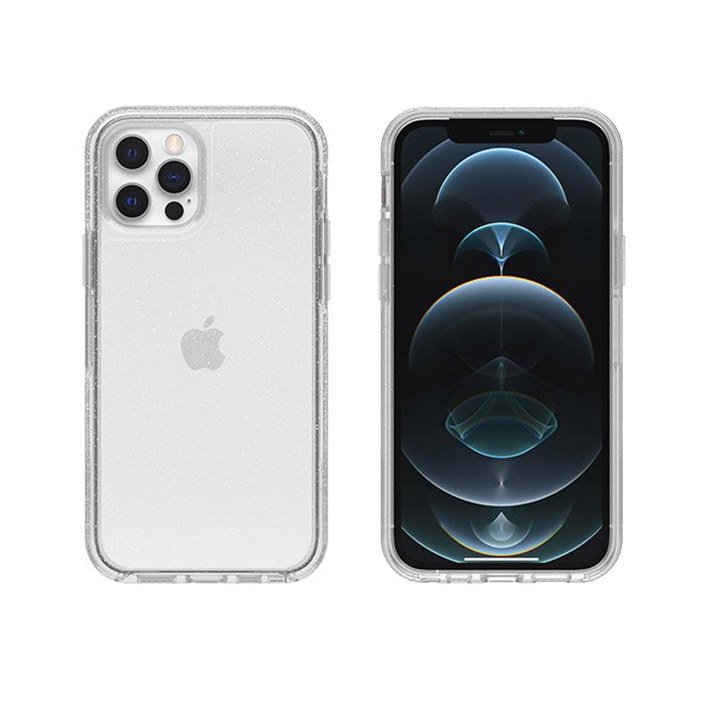 OtterBox|iPhone 12/12 Pro (6.1吋)專用 防摔吸震手機保護殼-Symmetry炫彩透明系列-閃亮星塵