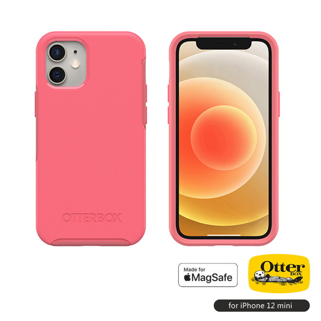 (複製)OtterBox|iPhone 12 mini (5.4吋)專用 防摔手機保護殼-Symmetry+炫彩系列(支援MagSafe無線快充)