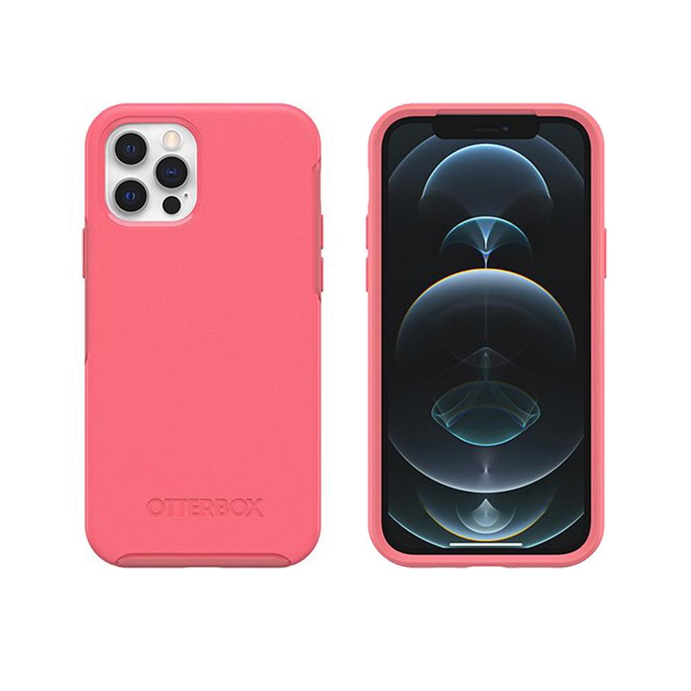 OtterBox iPhone 12/12 Pro 6.1吋專用 防摔手機保護殼-Symmetry+炫彩系列(支援MagSafe無線快充)-粉