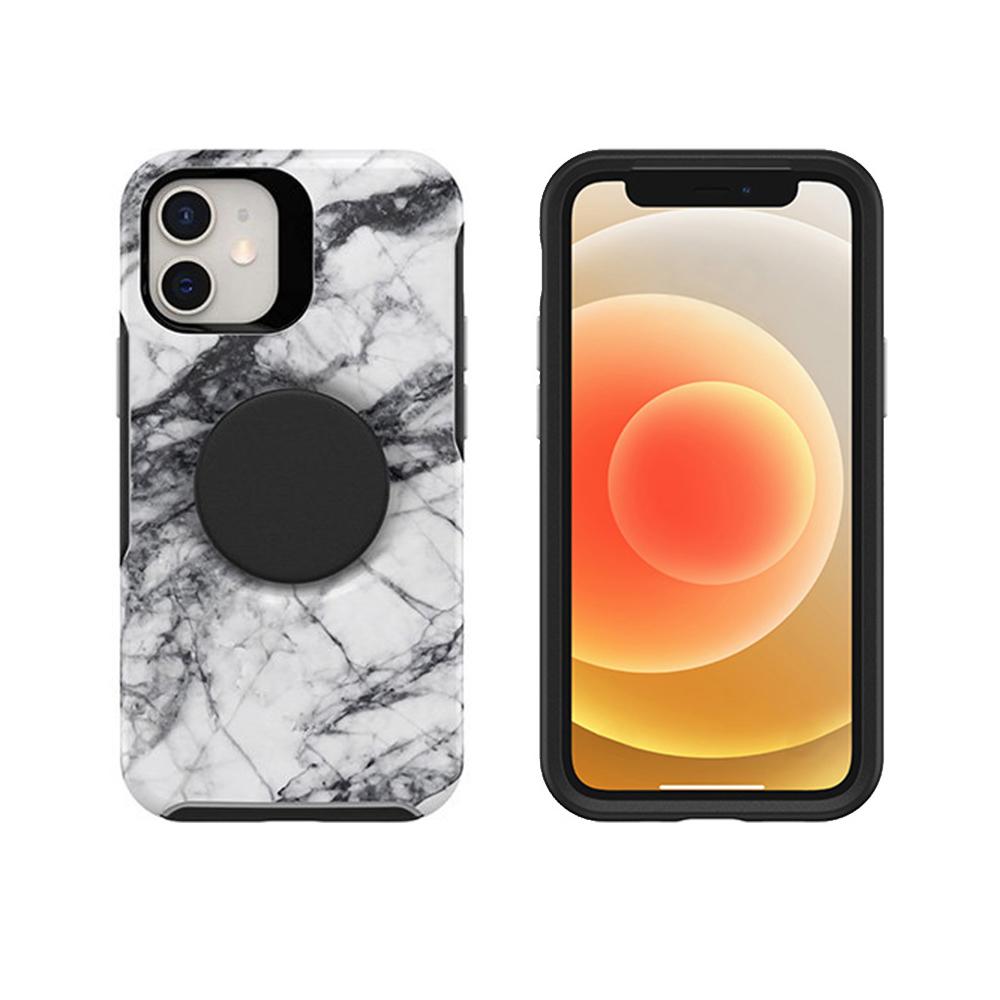 OtterBox|iPhone 12 mini 5.4吋專用 Otter+Pop防摔吸震保護殼-Symmetry炫彩幾何泡泡騷系列-大理石