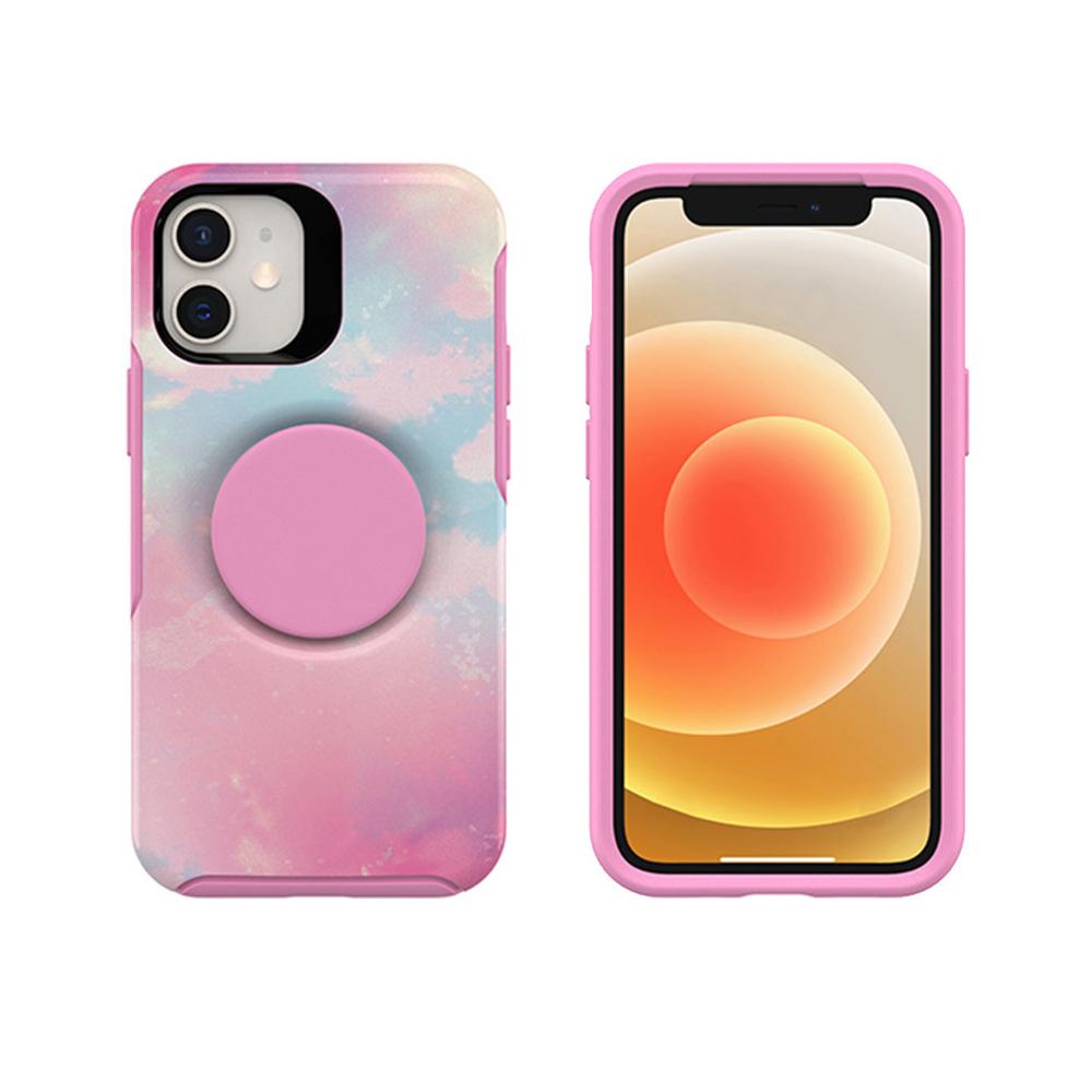 OtterBox iPhone 12 mini 5.4吋專用 Otter+Pop防摔吸震保護殼-Symmetry炫彩幾何泡泡騷系列-粉彩