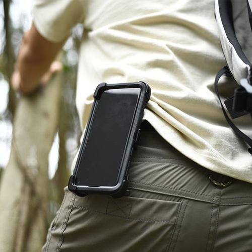 OtterBox iPhone 12/12 Pro (6.1吋)專用 防刮防塵防摔手機保護殼-Defender防禦者系列-黑