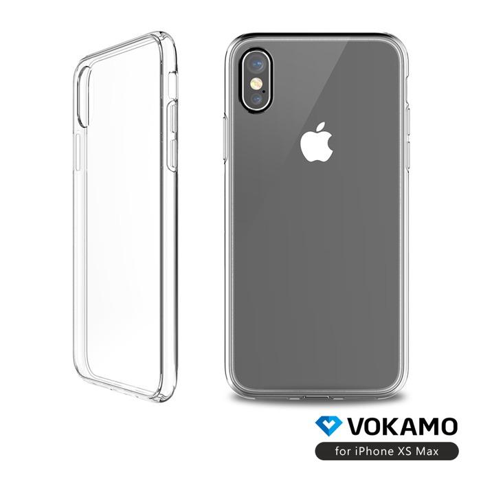 (複製)VOKAMO|Sdouble 雙料抗震防刮透明裸機感手機保護殼 iPhone XS/X (5.8吋)專用 全透明
