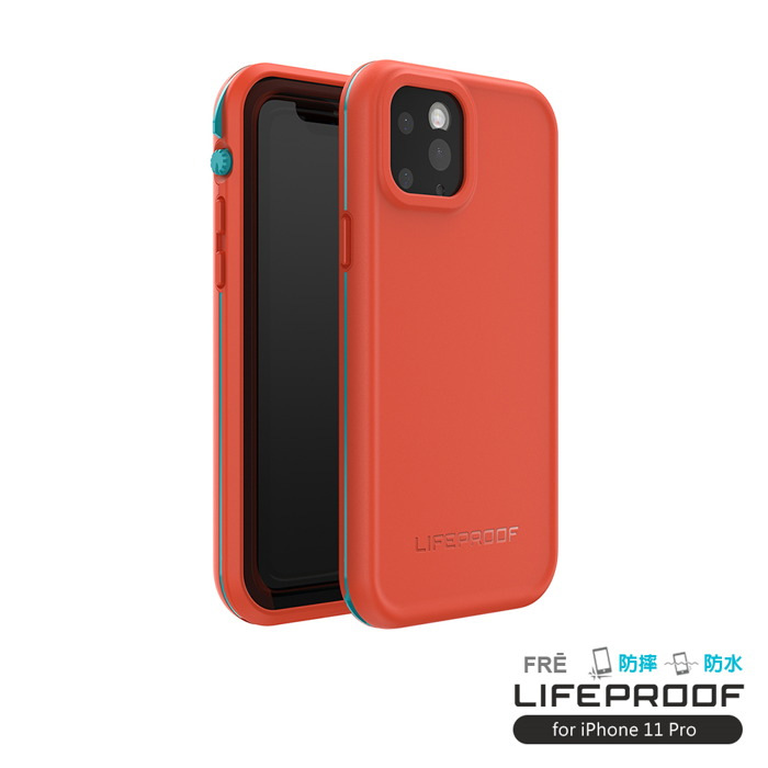 LIFEPROOF|iPhone 11 Pro (5.8吋)專用 防水防雪防震防泥超強四防保護殼-FRE(紅橙)
