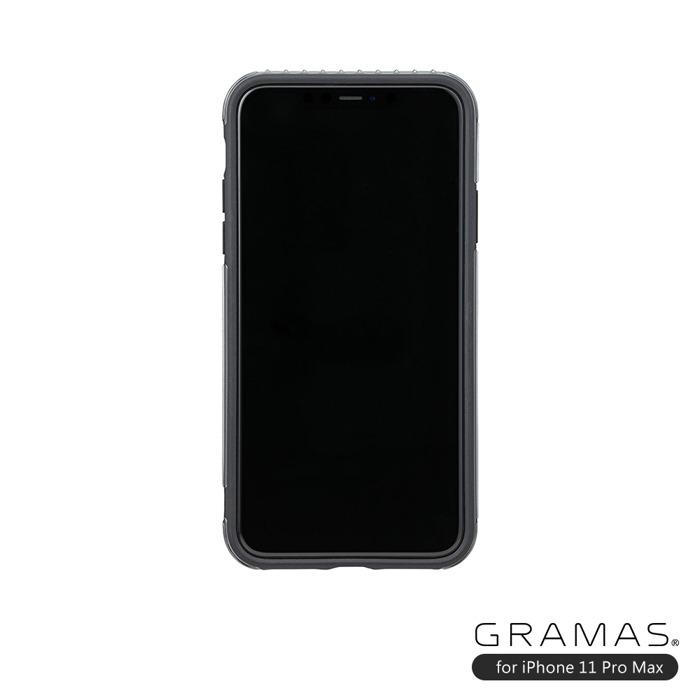 (複製)GRAMAS 東京職人工藝iPhone 11 Pro Max (6.5吋)專用 雙料保護軍規防摔行李箱手機殼-Rib系列