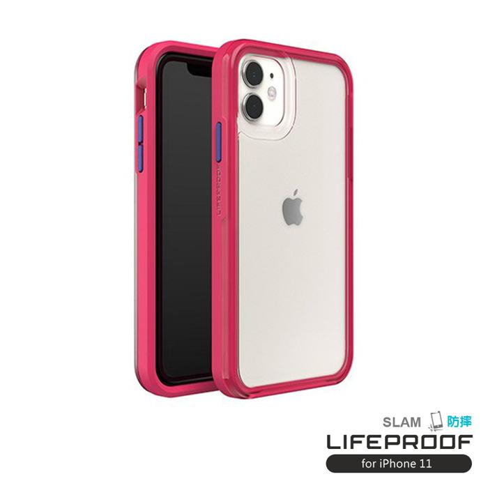 (複製)LIFEPROOF|iPhone 11 (6.1吋)專用 吸震抗衝擊輕量防摔手機殼-SLAM(透黃/灰)