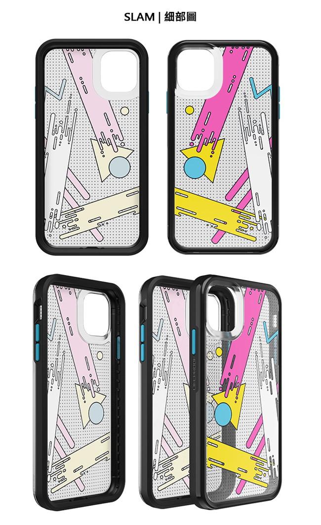 (複製)LIFEPROOF|iPhone 11 Pro Max (6.5吋)專用 吸震抗衝擊輕量防摔手機殼-SLAM(黑白彩繪/黑)
