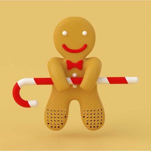 Hikalimedia|Gingerbread man 薑餅人泡茶器