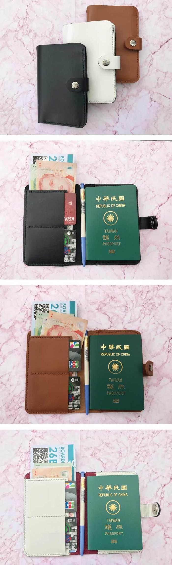 曼波魚SUN-FISH|【皮革溫度】旅行護照夾