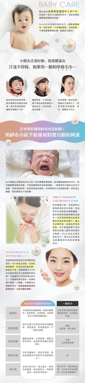 Nicott|日本五重珍珠紗毛巾〈粉橘仙人掌〉