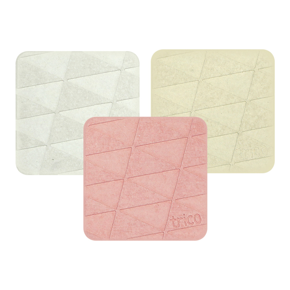 trico|極簡速乾珪藻土杯墊/皂墊〈2入組〉