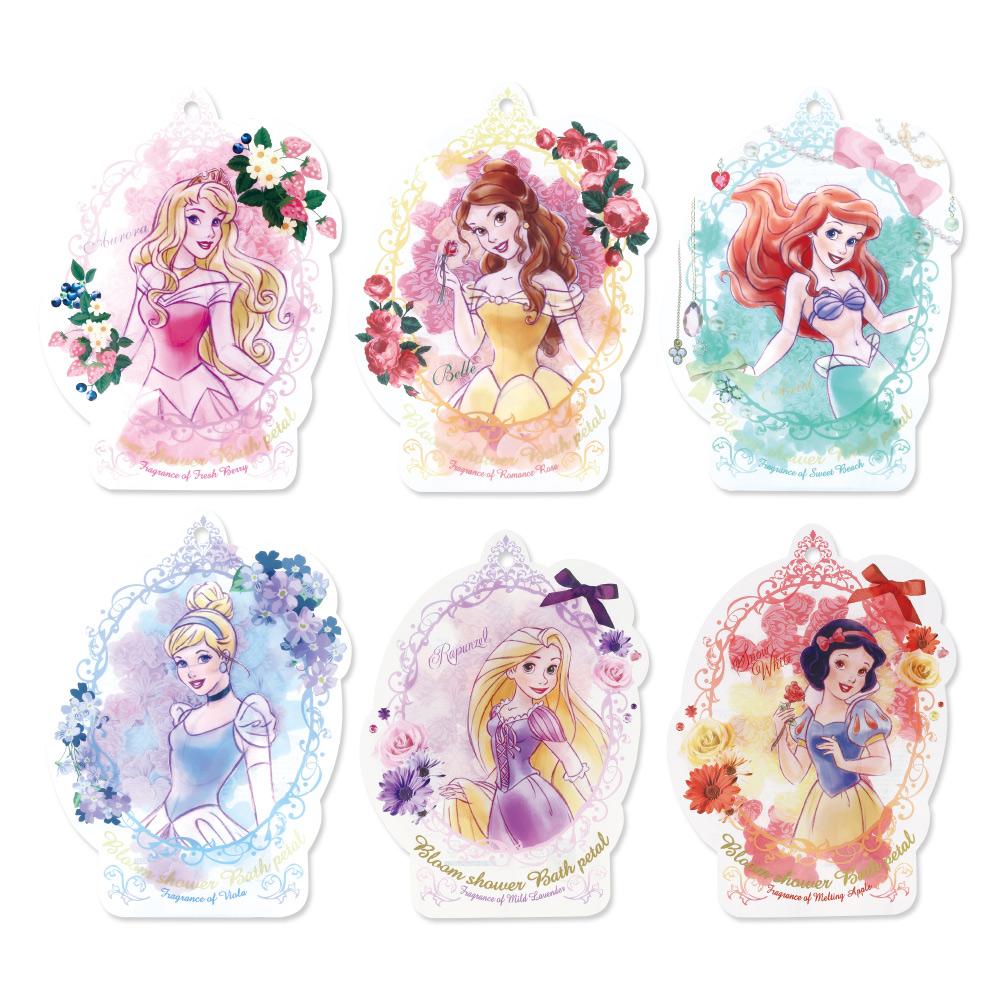 NOL|Disney迪士尼公主花瓣泡澡片系列〈綜合6入組〉