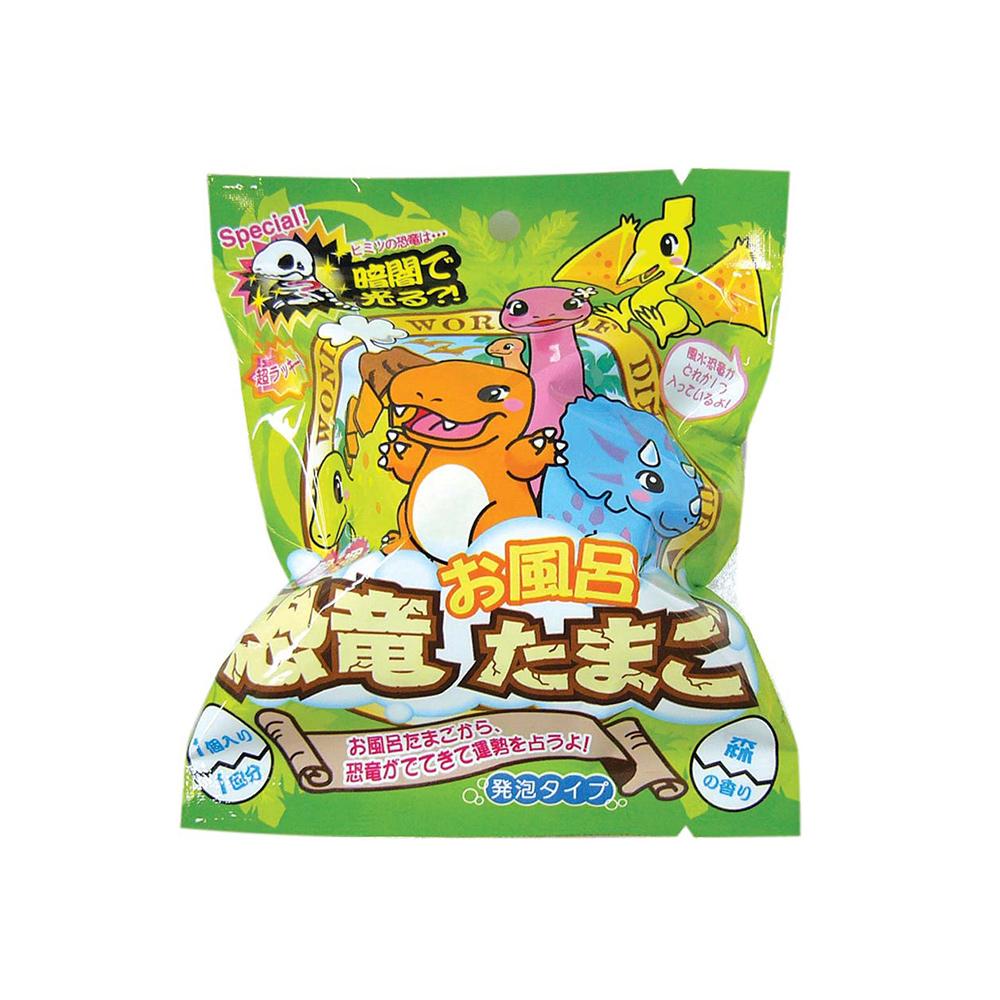 NOL|日本魔幻泡泡入浴球系列—Q版恐龍百科篇〈2入組〉