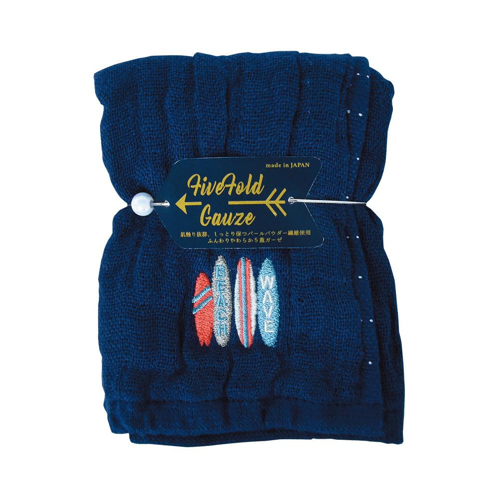 Nicott 日本五重珍珠紗方巾〈仲夏海灘兩入組〉