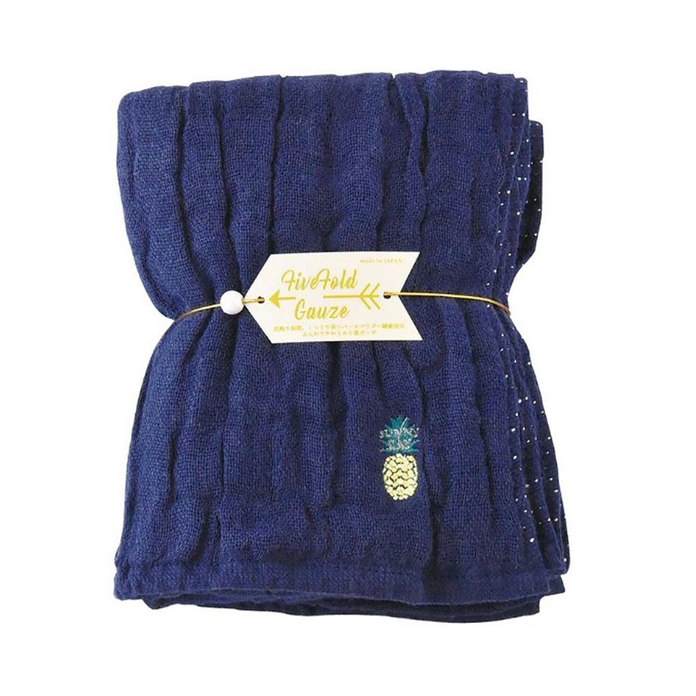 Nicott|日本五重珍珠紗毛巾〈深海鳳梨〉