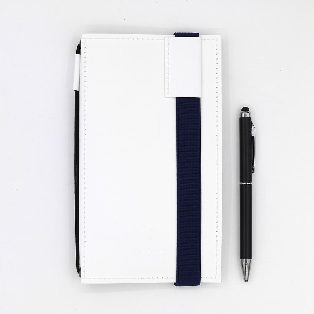LEATAI 磊泰|Walking系列筆記本-Ultra Slim週計畫組合 -純白色