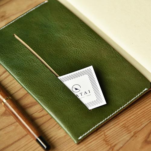 LEATAI 磊泰|Adventure探險系列 - 純手工真皮 古樸綠 + 陌上花開(灰)