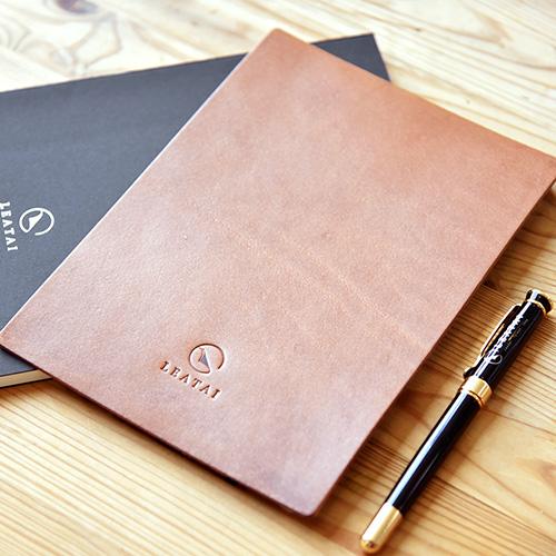 LEATAI 磊泰|法國真皮寫字墊-天然琥珀棕