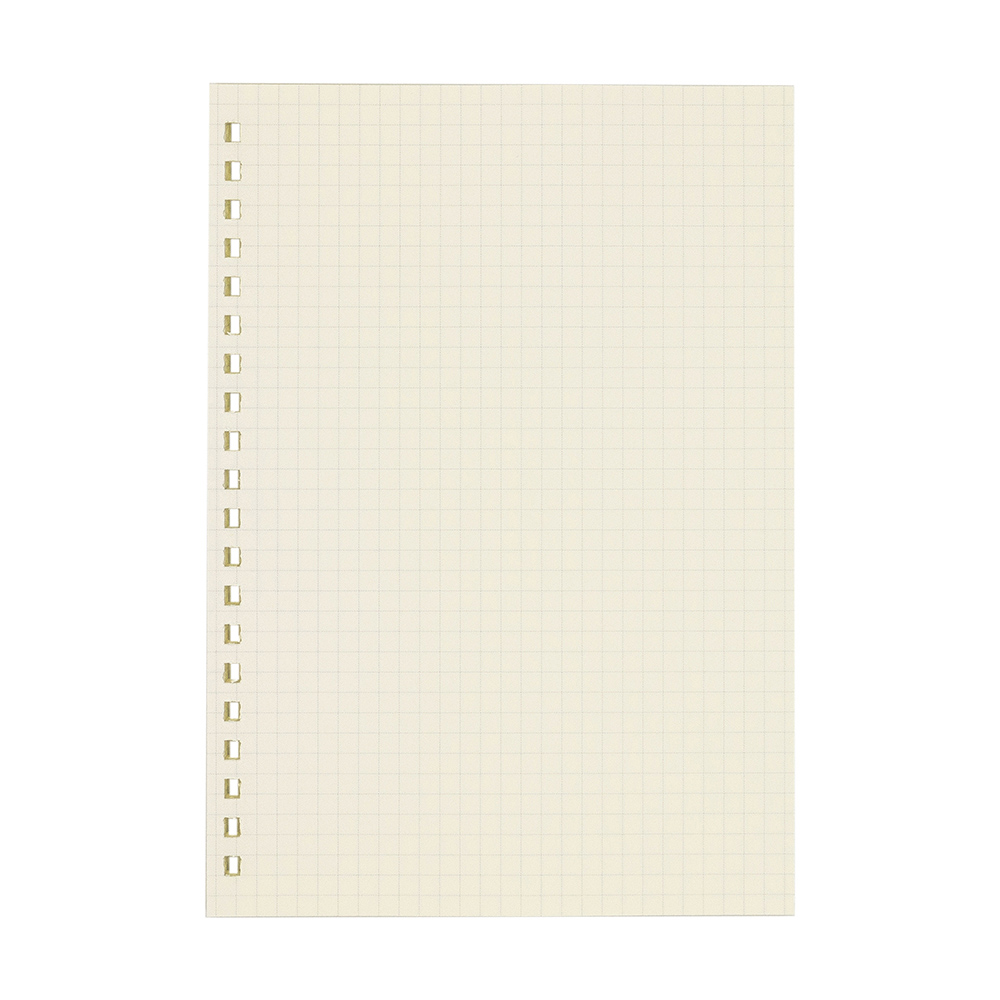 LEATAI 磊泰|大包裝!介紙1.0 / 方格內頁補充包特惠組 / A5活頁紙20孔 / 10包組