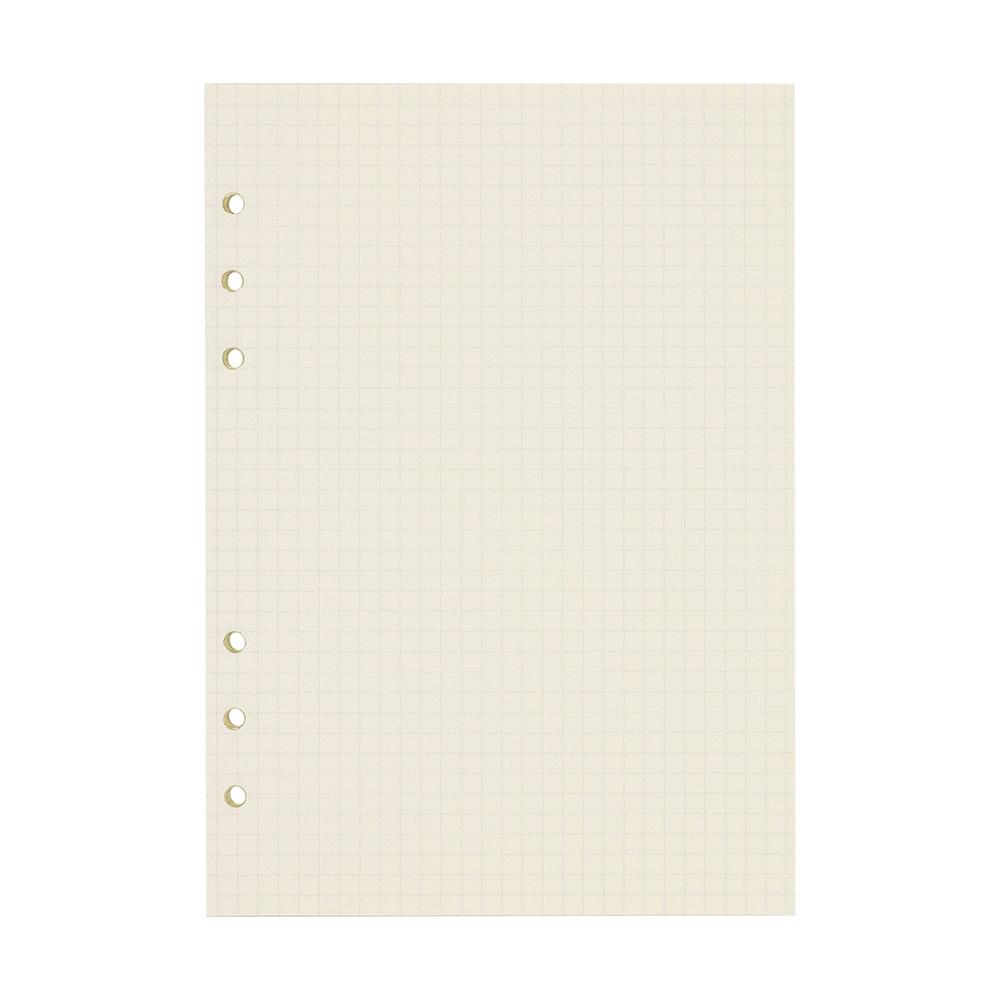 LEATAI 磊泰|大包裝!介紙1.0 / 方格內頁補充包特惠組 / A5活頁紙6孔 / 10包組