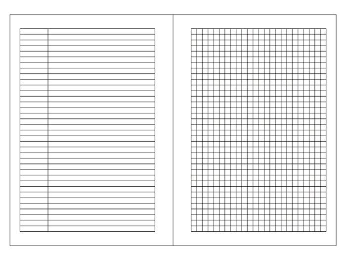 (複製)LEATAI 磊泰|歲月靜好 A5孟宗竹條活頁本(介紙1.0-鋼筆適用紙) - 黑色