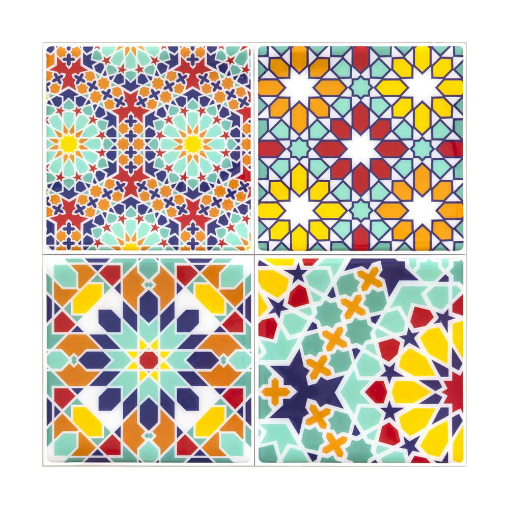 KNOWS&GOODS|地中海花磚貼紙 托斯卡尼款