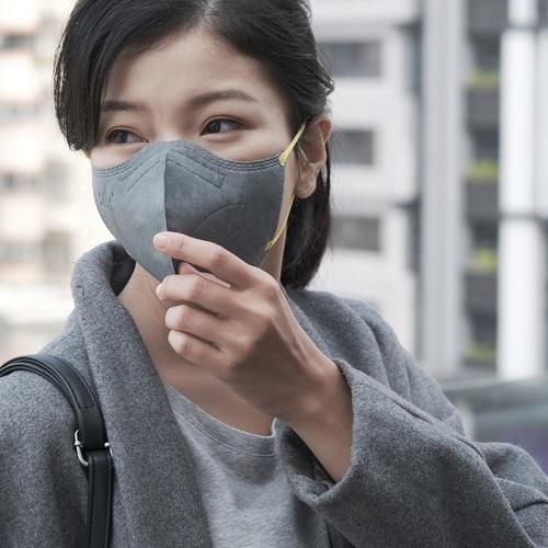 :dc|克微粒 防霾PM2.5口罩 立體成人口罩禮品組 [2 片/盒*3+卡片*1+提袋*1]