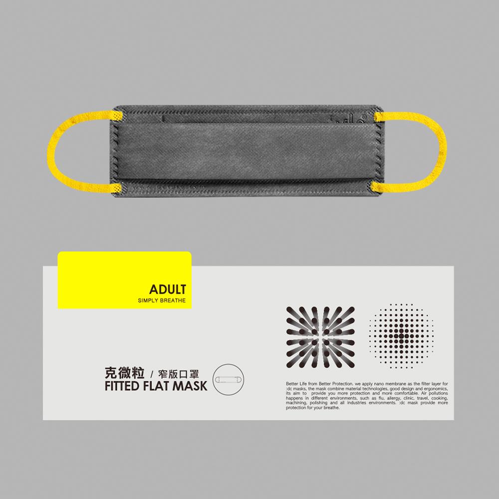 :dc 克微粒 窄版口罩 1 盒 (12片/盒)