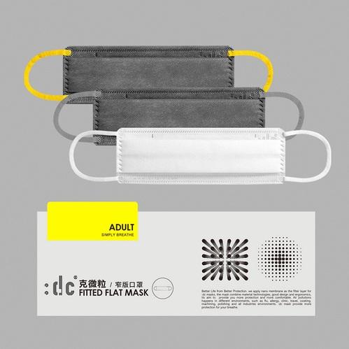 :dc 克微粒 窄版口罩 三片裝 綜合款式 1 盒 (3片/盒)