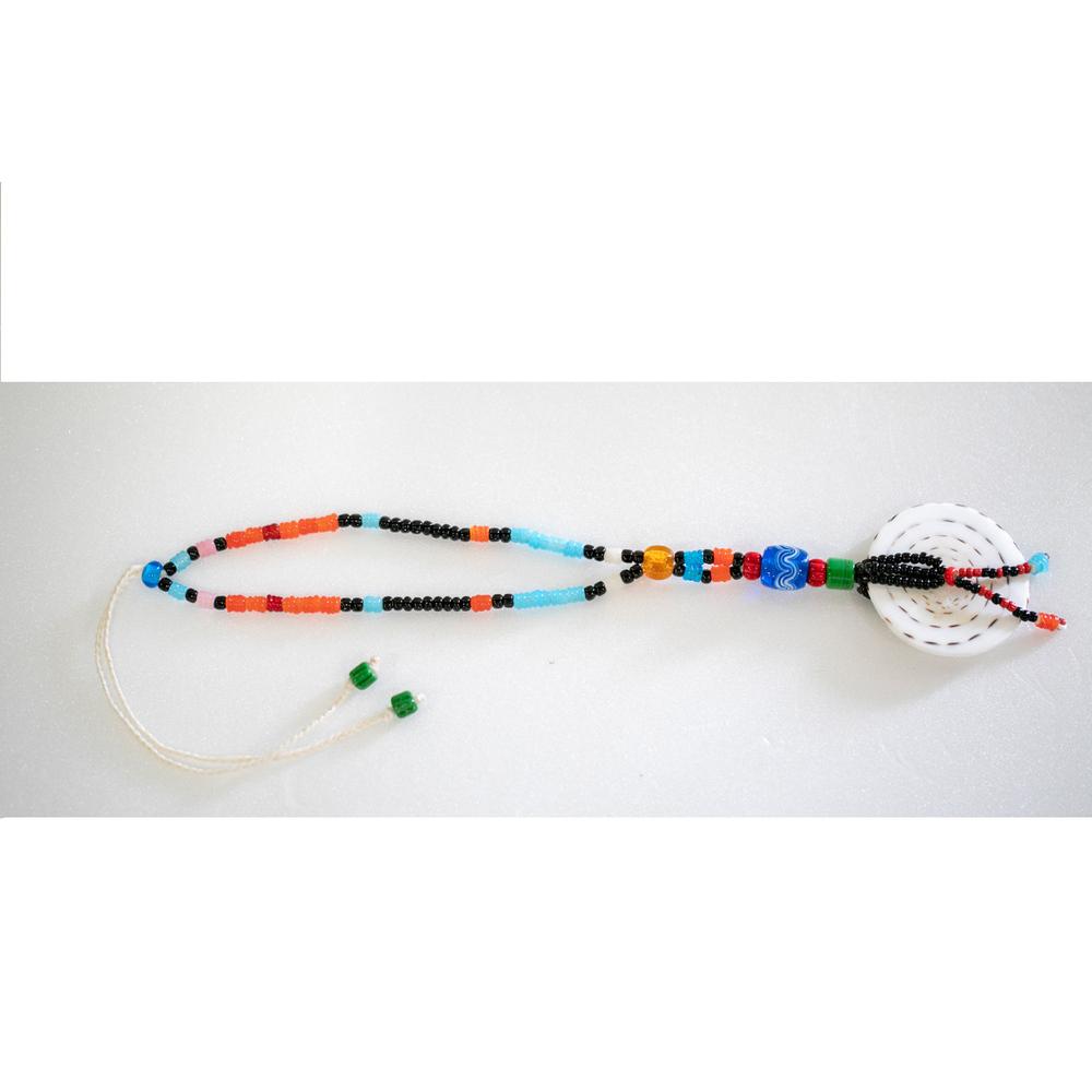 卡塔文化工作室│琉璃貝殼掛飾