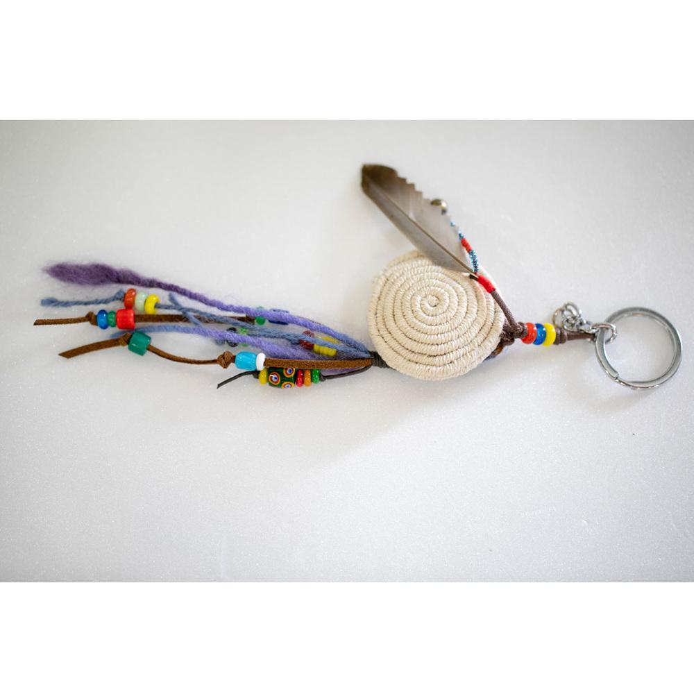 卡塔文化工作室│驚鳥香包鑰匙圈