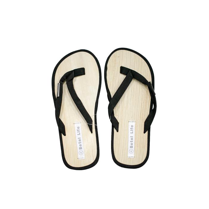 (複製)米麻岸工作室│極簡素色檳榔鞘拖鞋(綠)男女同版#5-#11