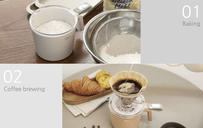 Peter's Pantry│Smart Measuring Cup 多用途電子秤杯(灰色)