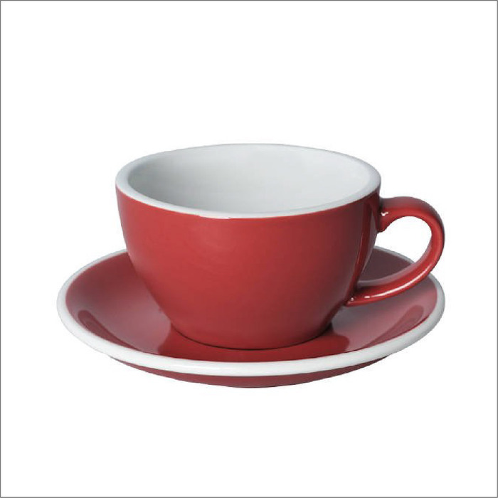 (複製)LOVERAMICS 愛陶樂 | 蛋形系列 300ml 拿鐵杯盤組 Egg Cafe Latte Cup & Saucer (五色)