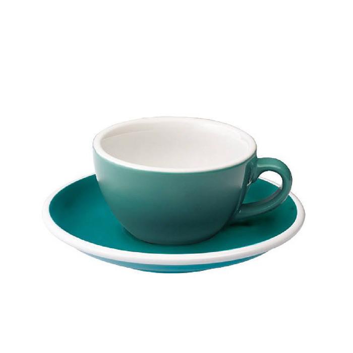 (複製)LOVERAMICS 愛陶樂   蛋形系列 200ml 卡布奇諾杯盤組 Egg Cappuccino Cup & Saucer (五色)