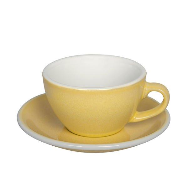 (複製)LOVERAMICS 愛陶樂   蛋形系列 300ml 拿鐵杯盤組 (職人色系) Egg Cafe Latte Cup & Saucer (九色)