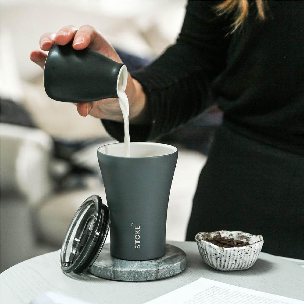 STTOKE| Ceramic Reusable Cup 精品陶瓷隨行杯 8oz (240ml) (新款兩色)