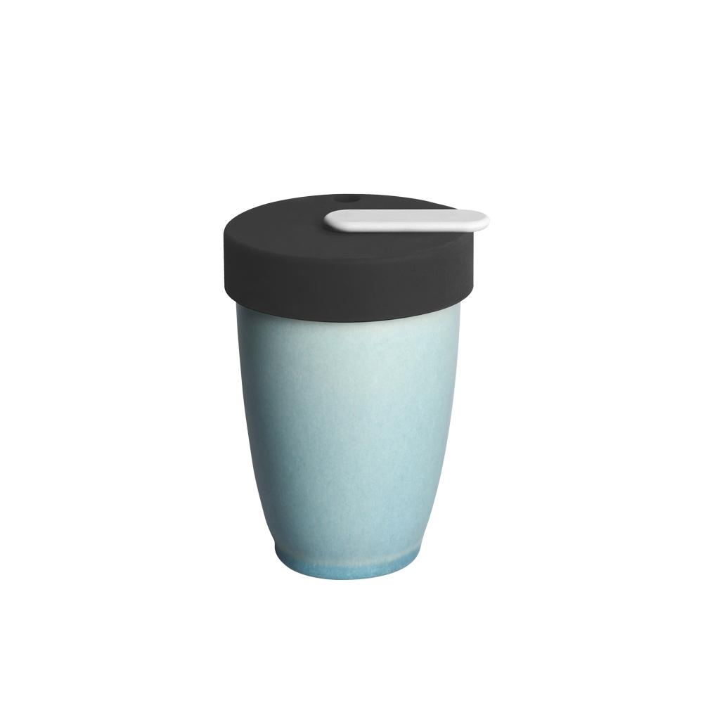 LOVERAMICS 愛陶樂   Nomad 遊牧雙層陶瓷隨行杯 250ml 職人色系 (冰湖色)