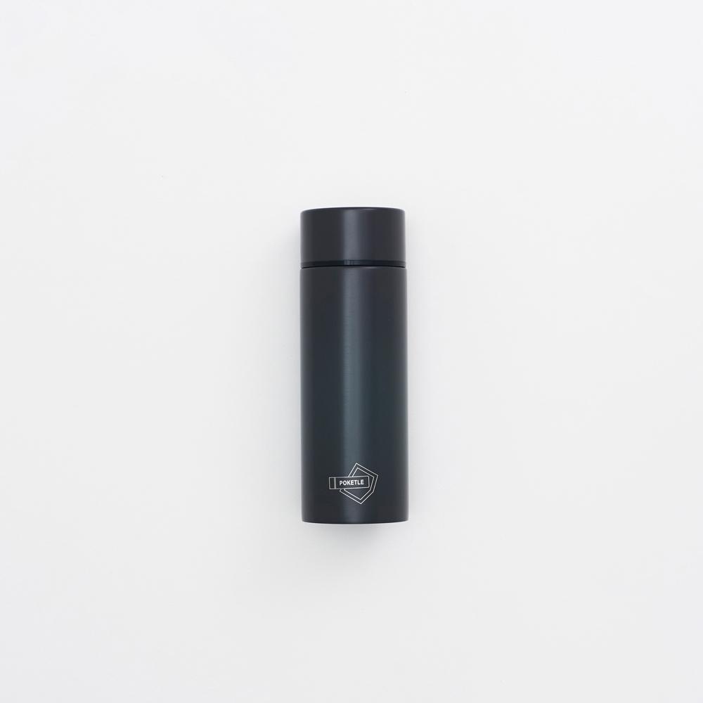 [公司貨]POKETLE | 極致輕便保溫瓶S (煤炭灰)