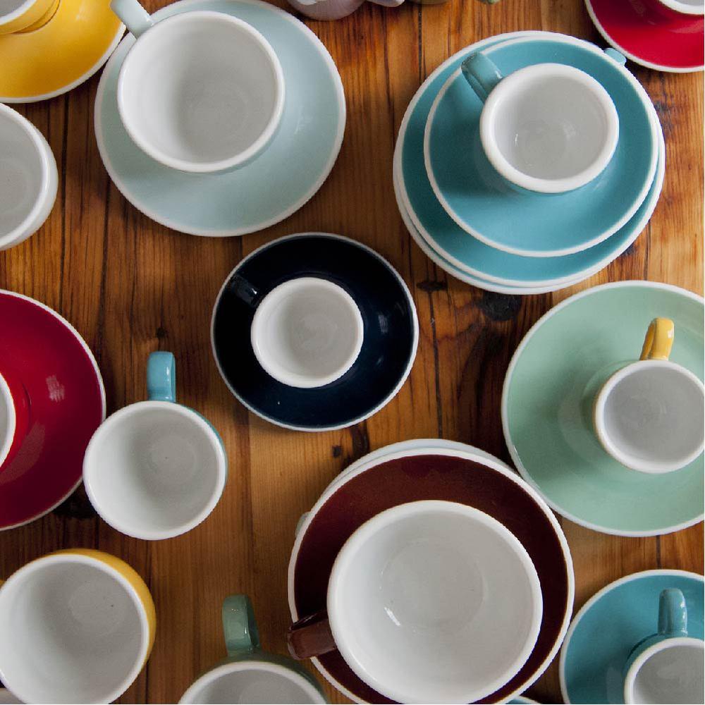 LOVERAMICS 愛陶樂 | 蛋形系列 250ml 卡布奇諾杯盤組 Egg Cappuccino Cup & Saucer (五色)