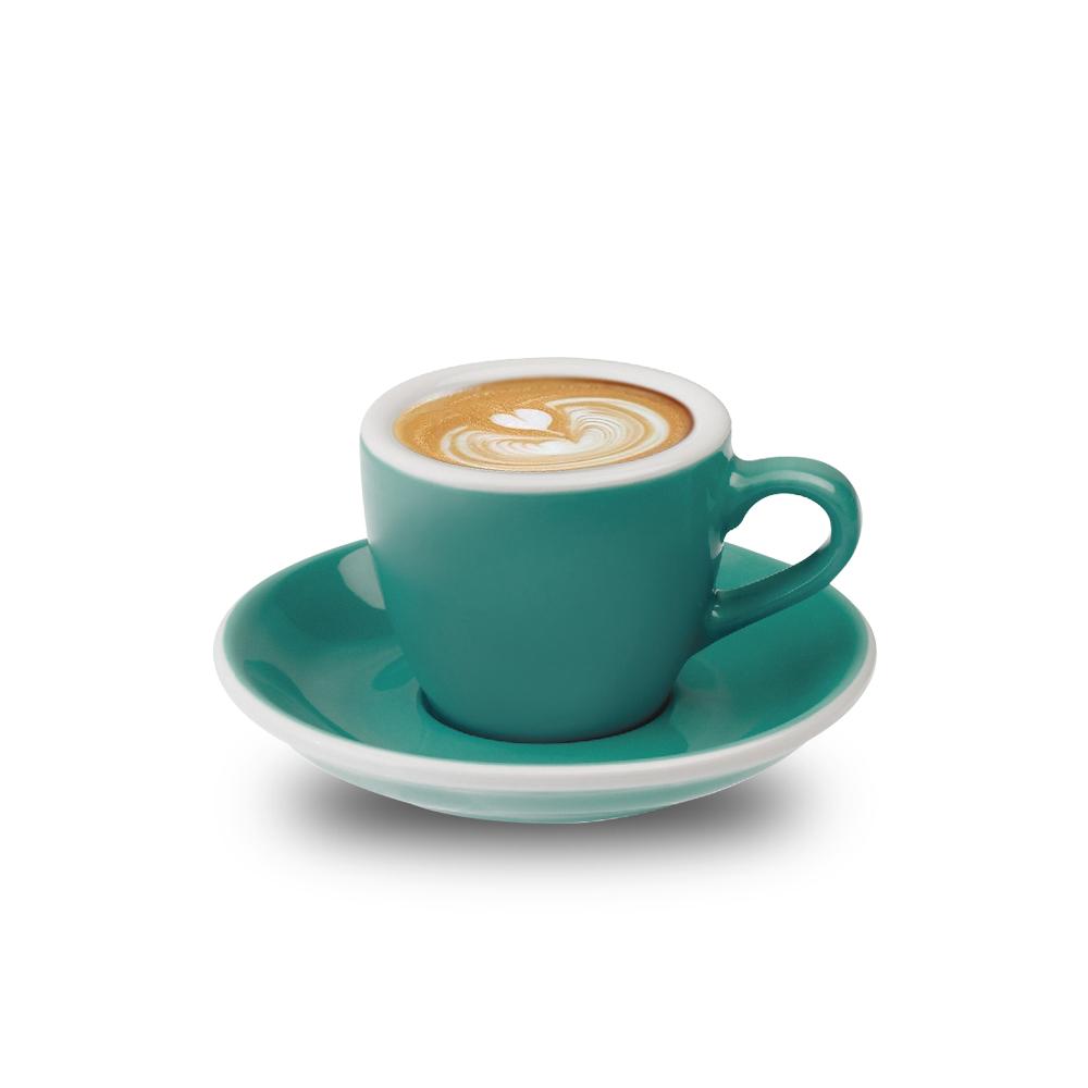 LOVERAMICS 愛陶樂   蛋形系列 80ml 濃縮咖啡杯盤組 Egg Espresso Cup & Saucer (五色)